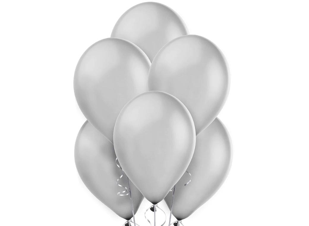 Value Balloons 15pk - Silver