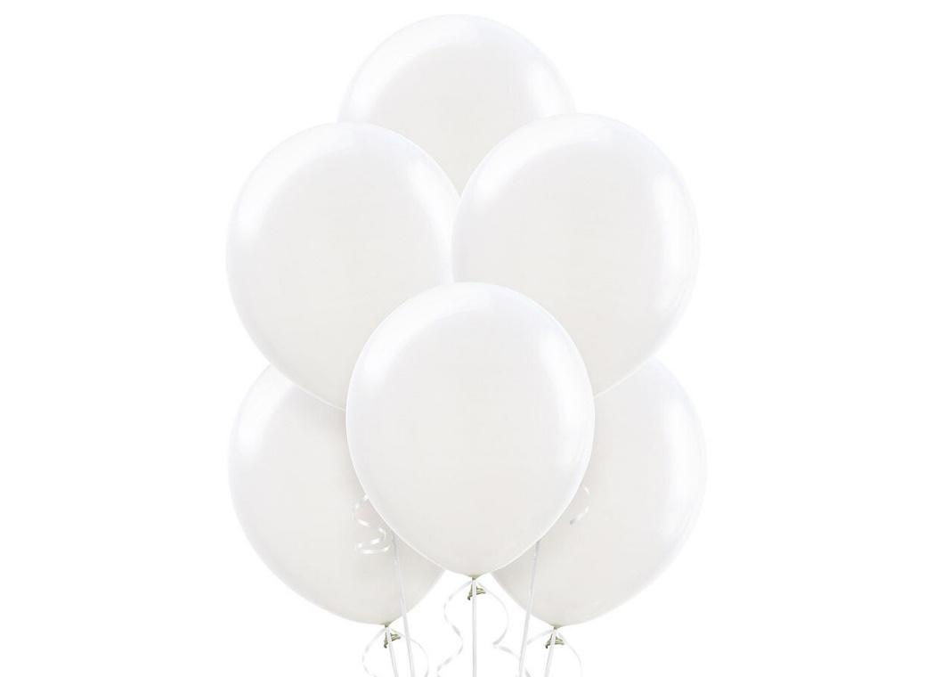 Value Balloons 15pk - White