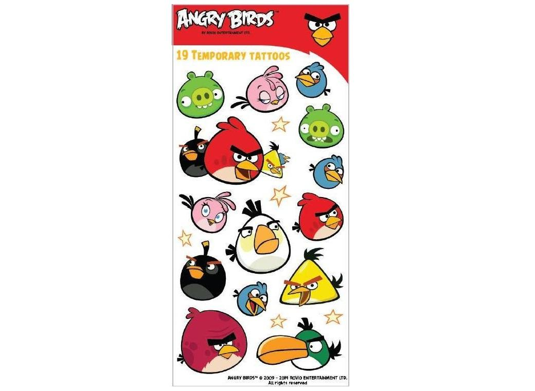 Angry Birds - Tattoos
