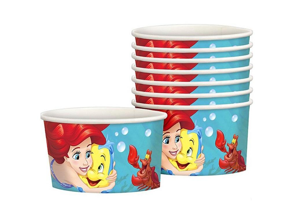 Ariel Dream Big Treat Cups - 8pk