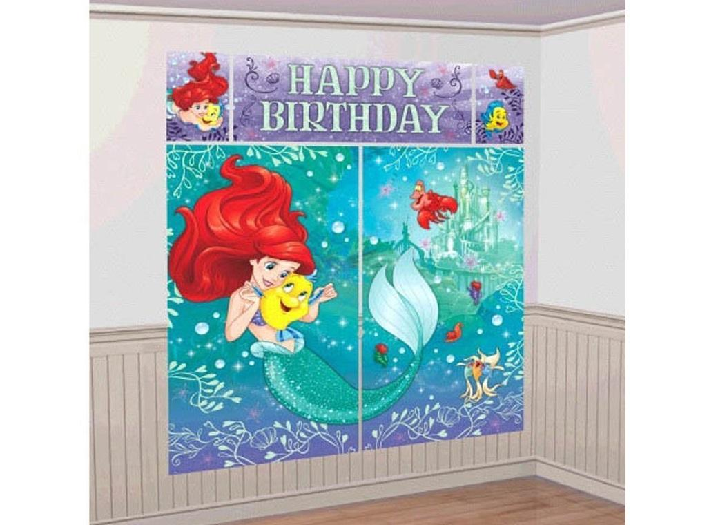 Ariel Dream Wall Decorating Kit