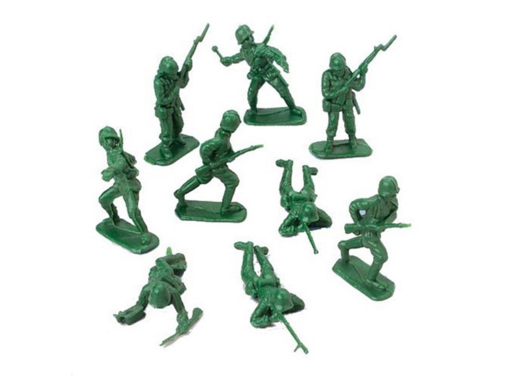 Green Army Soldier Favours 24pk