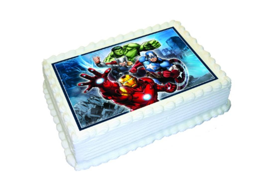 Edible Icing Image - Avengers A4