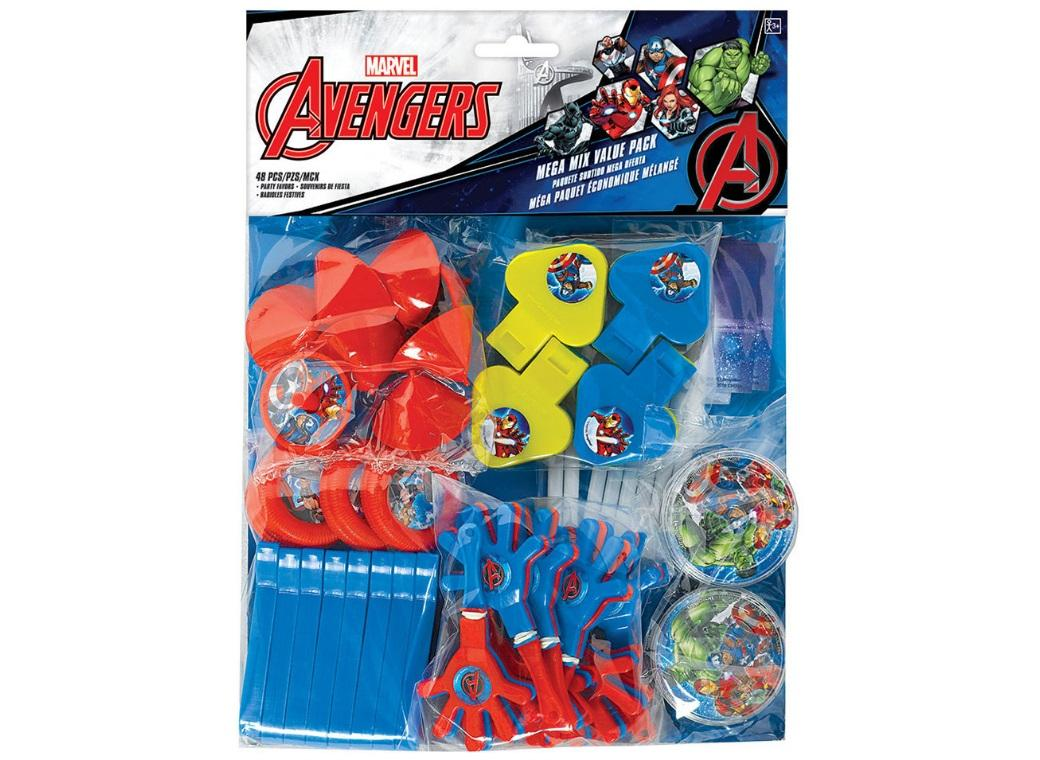 Avengers Epic Mega 48pce Favour Pack
