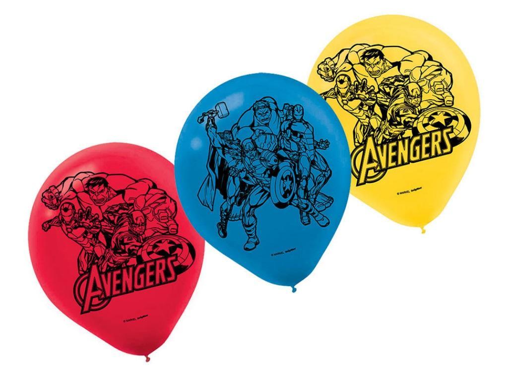 Avengers Epic Balloons 6pk