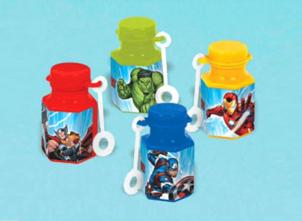 Avengers Epic Mini Bubbles 12pk