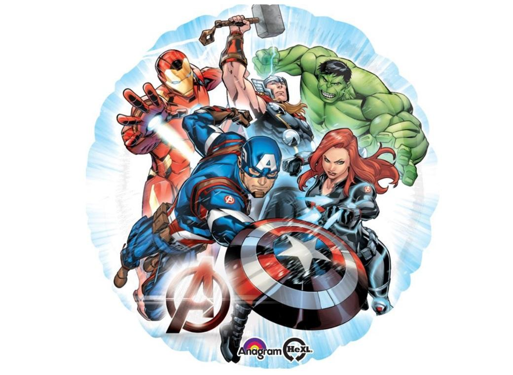 Avengers Group Foil Balloon