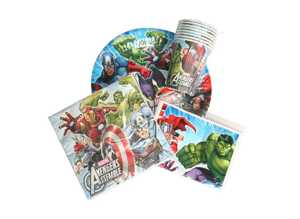 Avengers Party Pack - 40pce