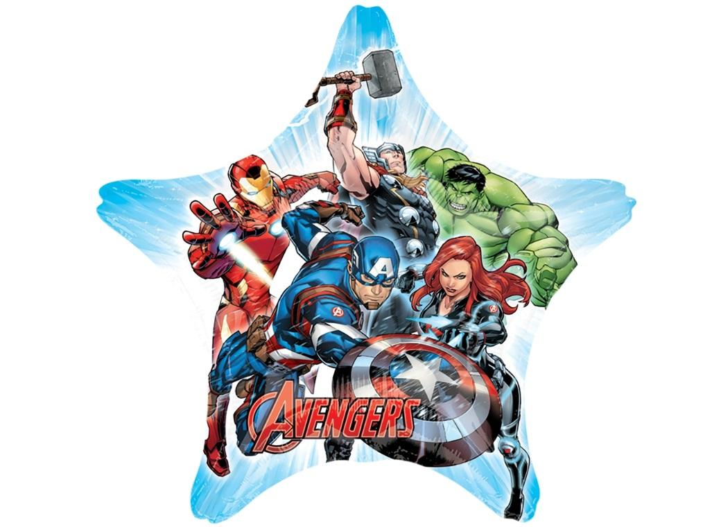 Avengers SuperShape Foil Balloon