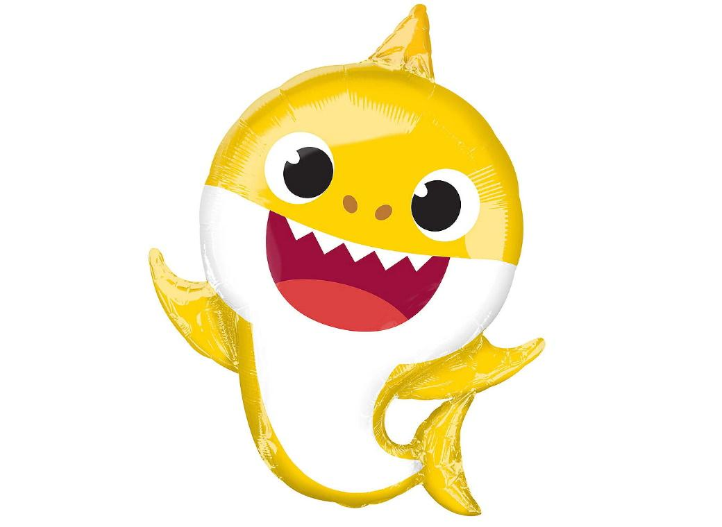 Baby Shark SuperShape Foil Balloon