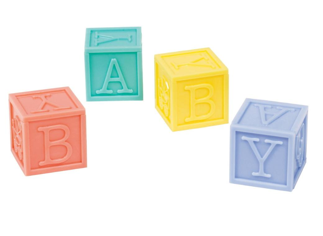 Baby Shower Baby Blocks