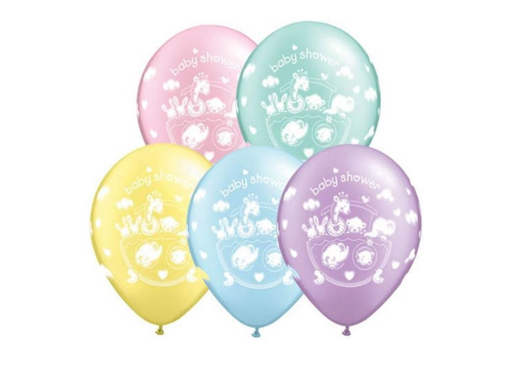 Baby Shower Balloons - 5pk