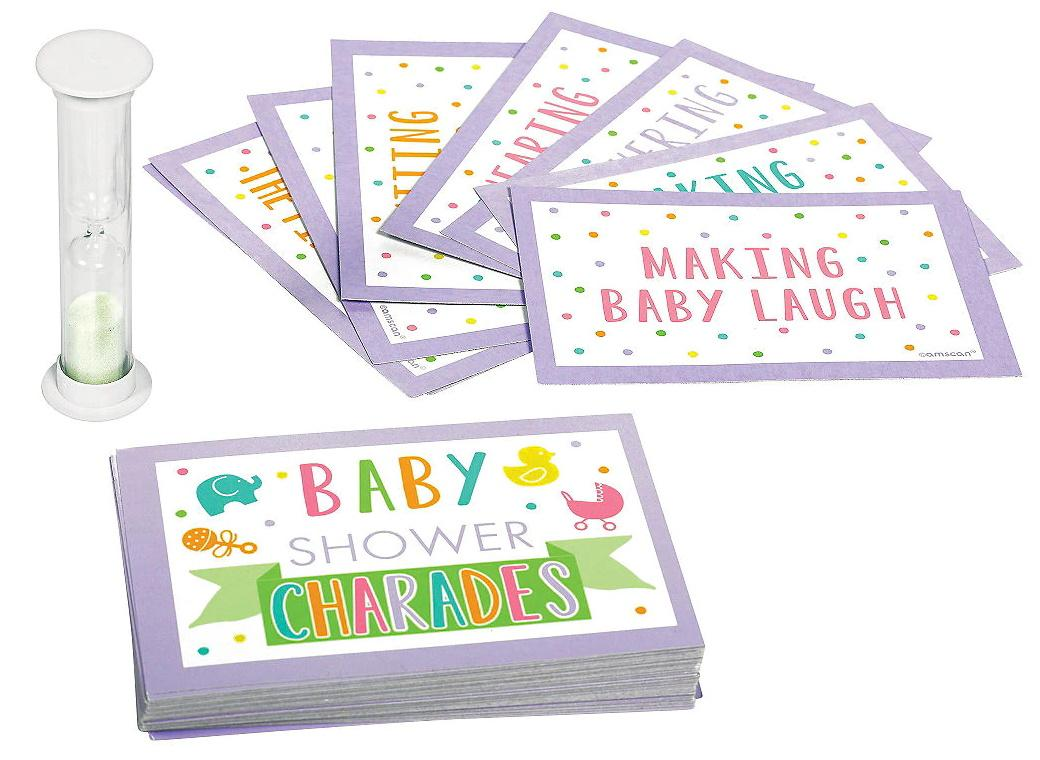 Baby Shower Charades