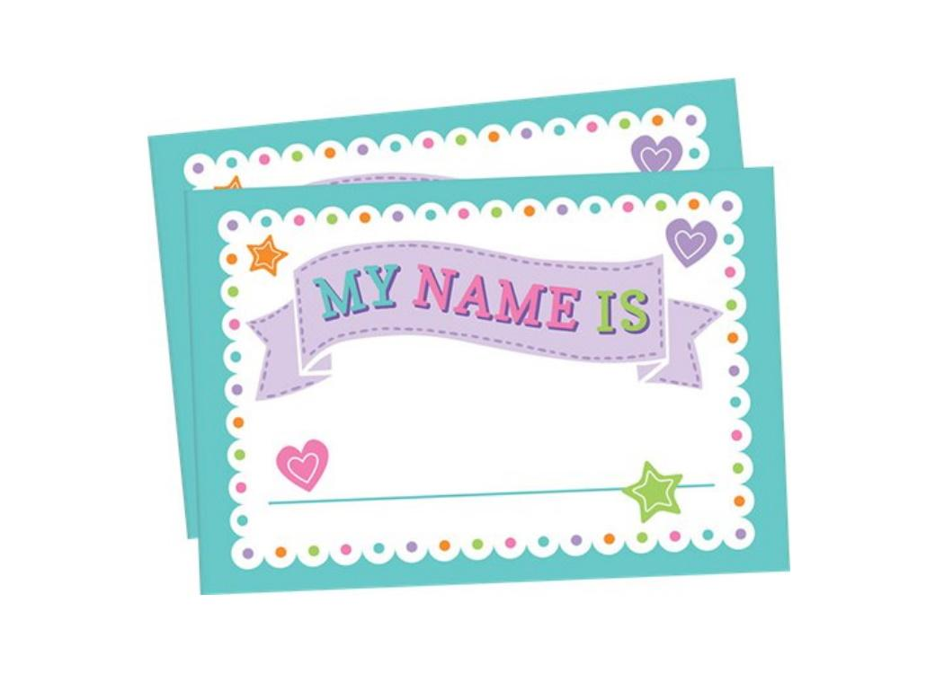 Baby Shower Name Tags 26pk