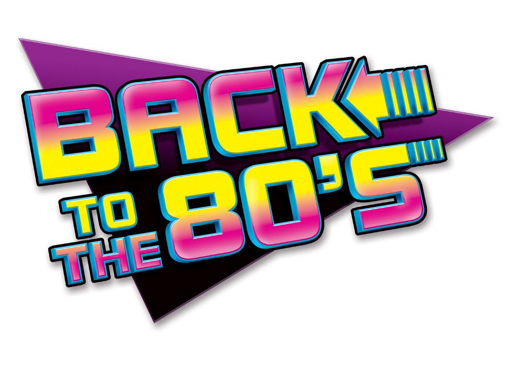 Back to the 80s Sign