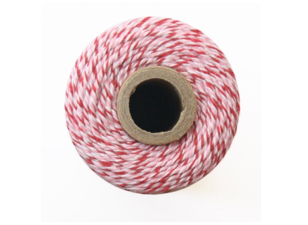 100% Cotton Bakers Twine - Peppermint