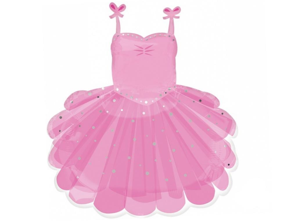 Ballerina Tutu SuperShape Foil Balloon
