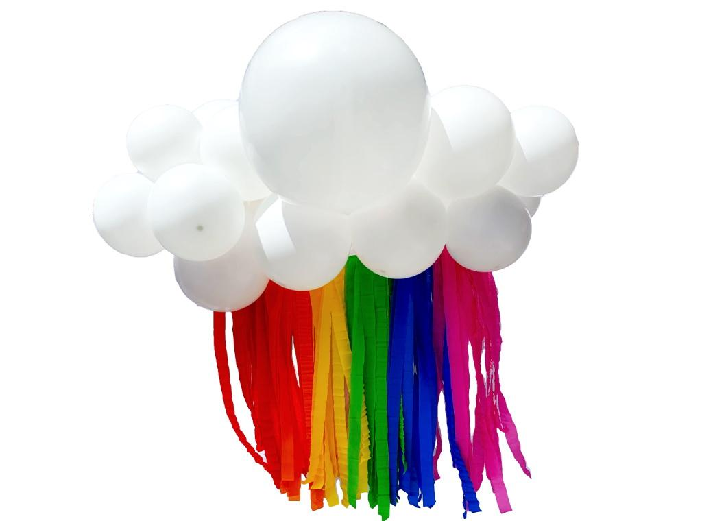 Balloon Cloud Kit - Bright Rainbow