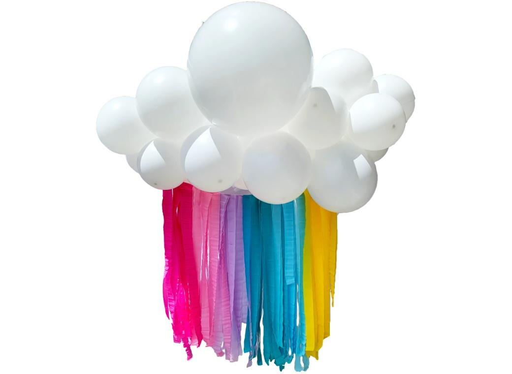 Balloon Cloud Kit - Pastel Rainbow