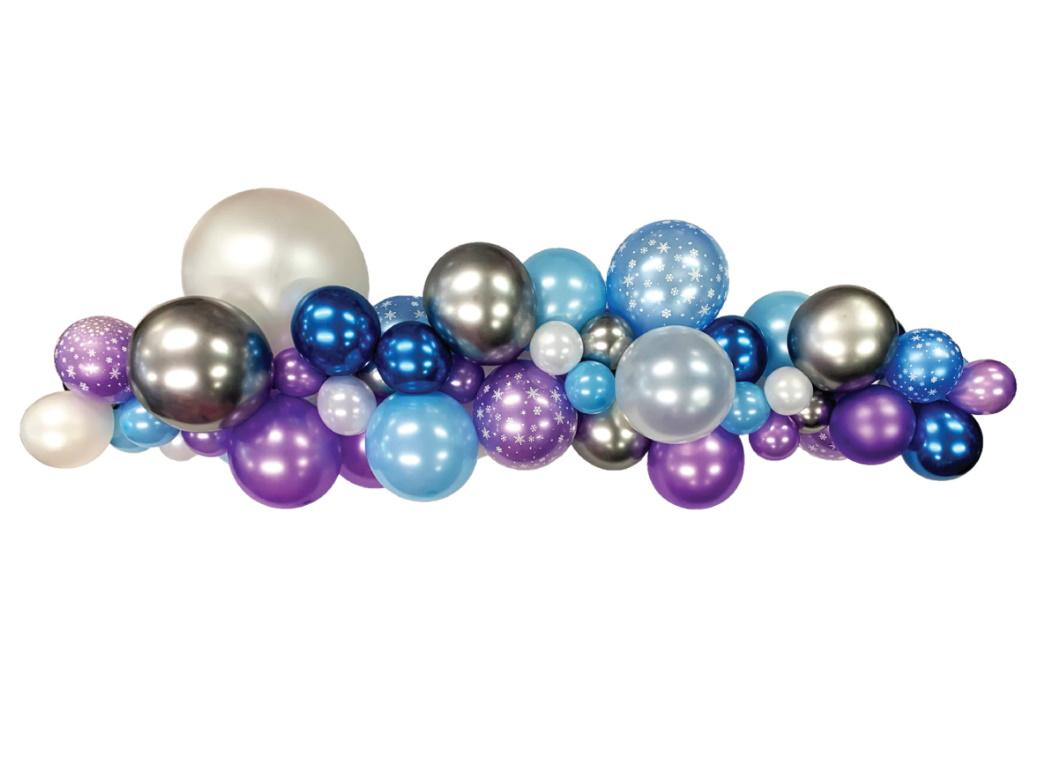 Balloon Garland Kit - Frozen
