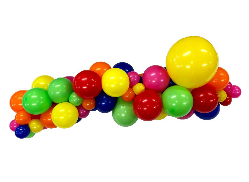 Balloon Garland Kit - Bright Rainbow