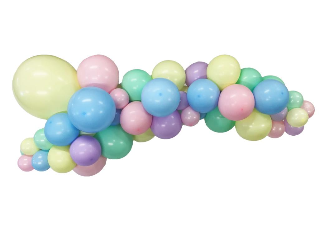 Balloon Garland Kit - Pastel Rainbow