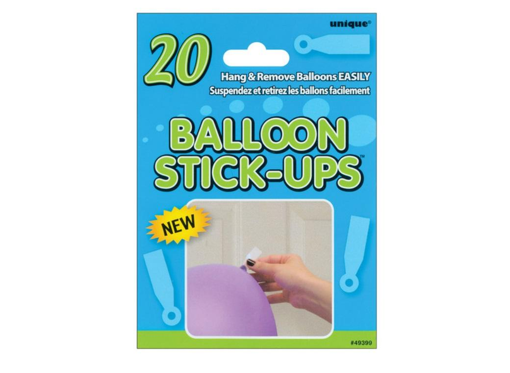 Balloon Stick-Ups - 20pk