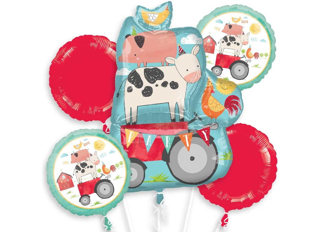 Barnyard Birthday Foil Balloon Bouquet