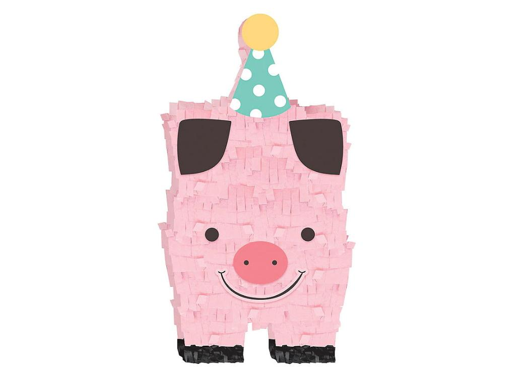 Barnyard Birthday Mini Pinata Decoration