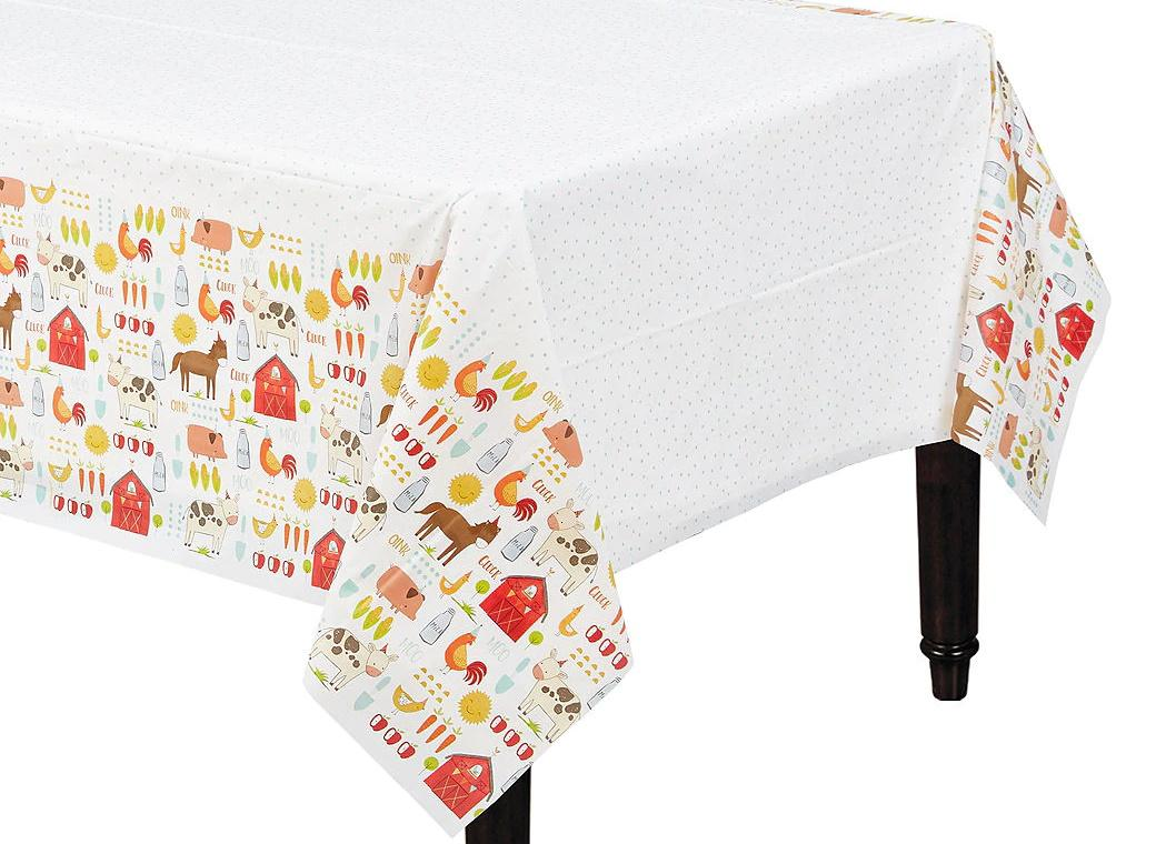 Barnyard Birthday Table Cover