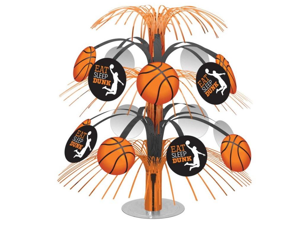 Basketball Cascade Table Centrepiece