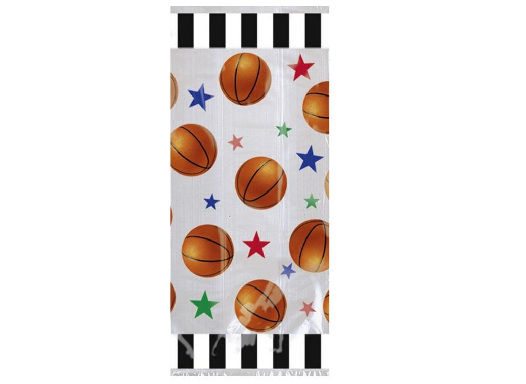 Basketball Cello Bags 20pk