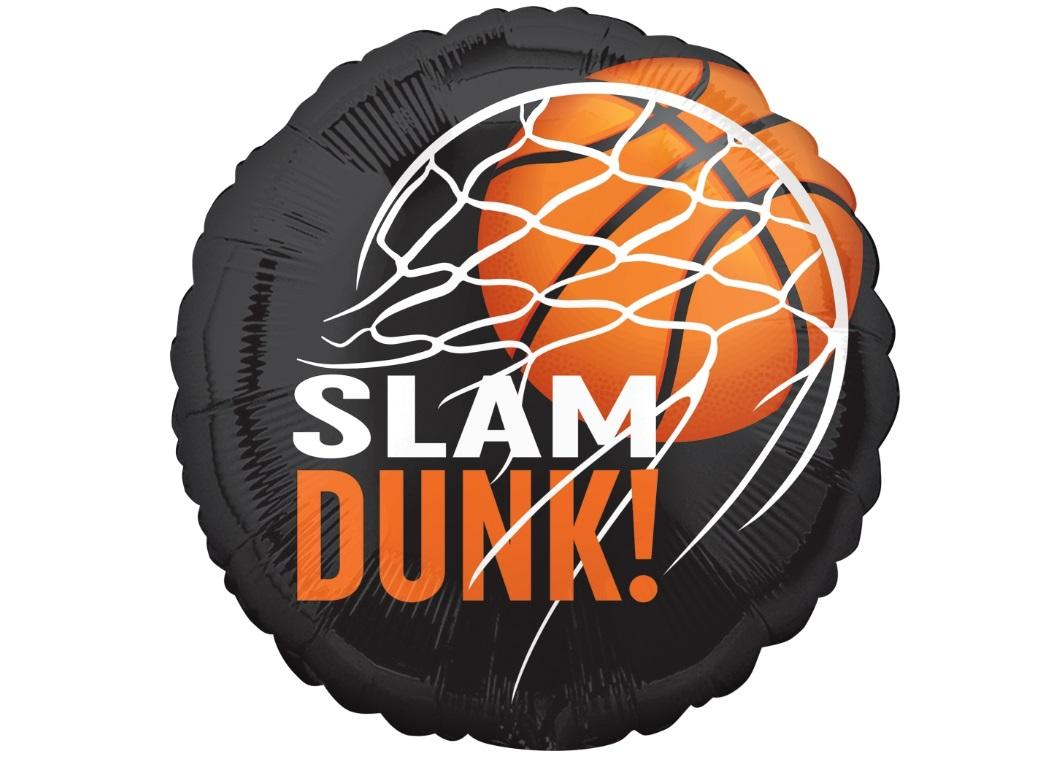 Slam Dunk Foil Balloon