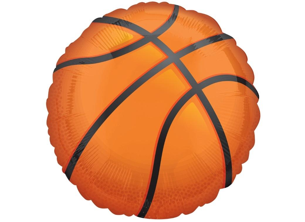 Basketball SuperShape Foil Balloon