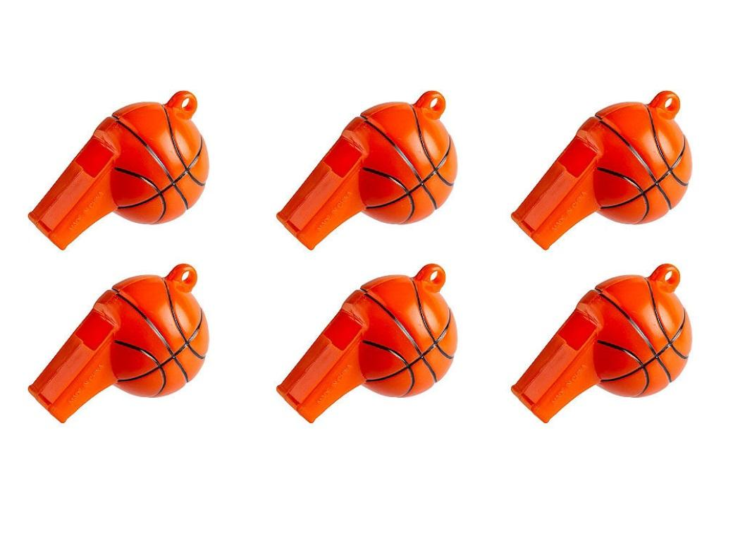 Basketball Whistles 12pk