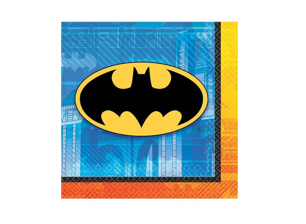 Batman - Beverage Napkins 16pk
