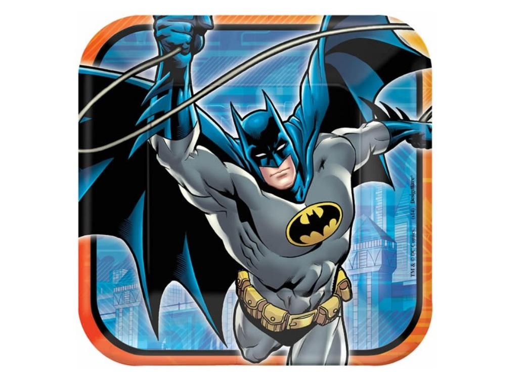 Batman - Dinner Plates 8pk