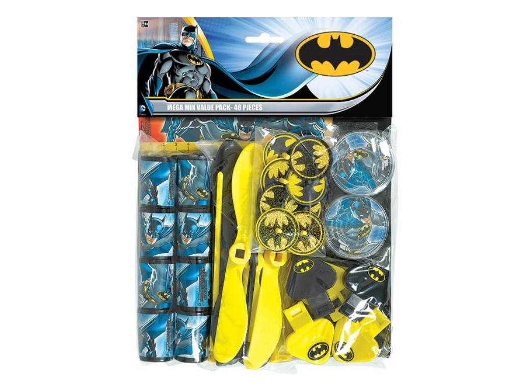 Batman Value Favour Pack - 48pce
