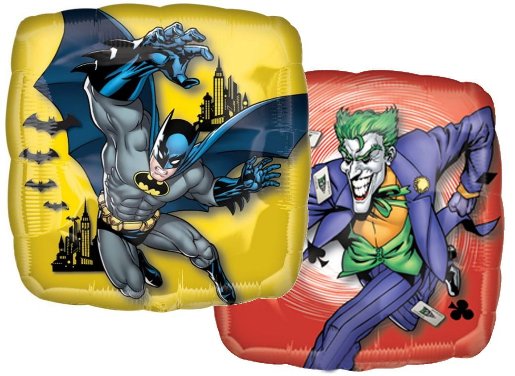 Batman & Joker Foil Balloon