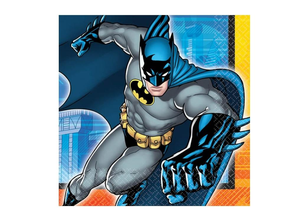 Batman - Lunch Napkins 16pk