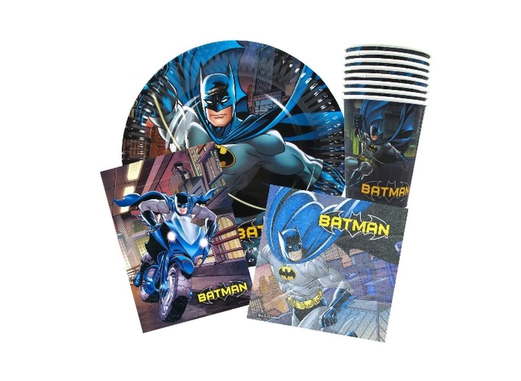 Batman Party Pack 40pce