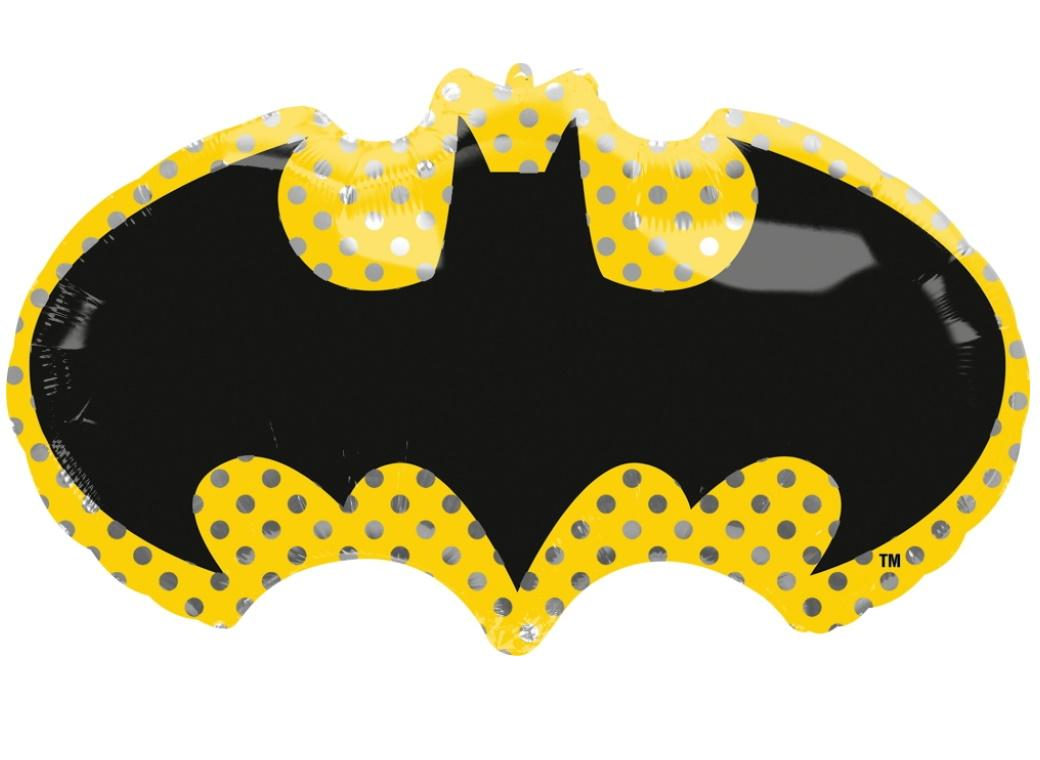 Batman Symbol SuperShape Foil Balloon