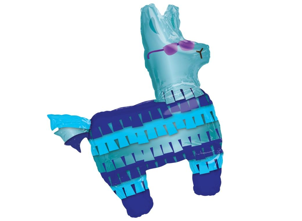 Battle Royal Llama SuperShape Foil Balloon