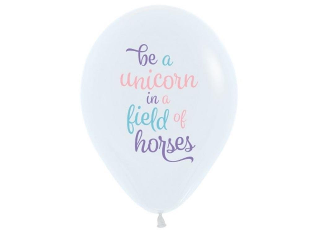 Be A Unicorn Balloon