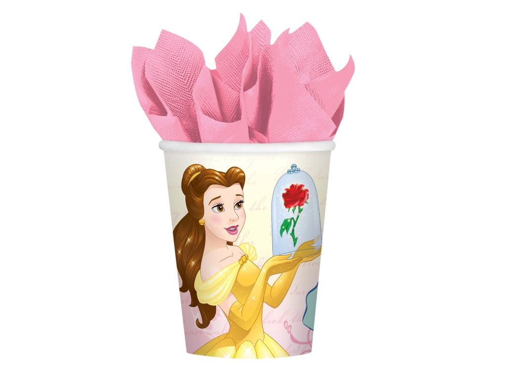Beauty and the Beast Cups 8pk