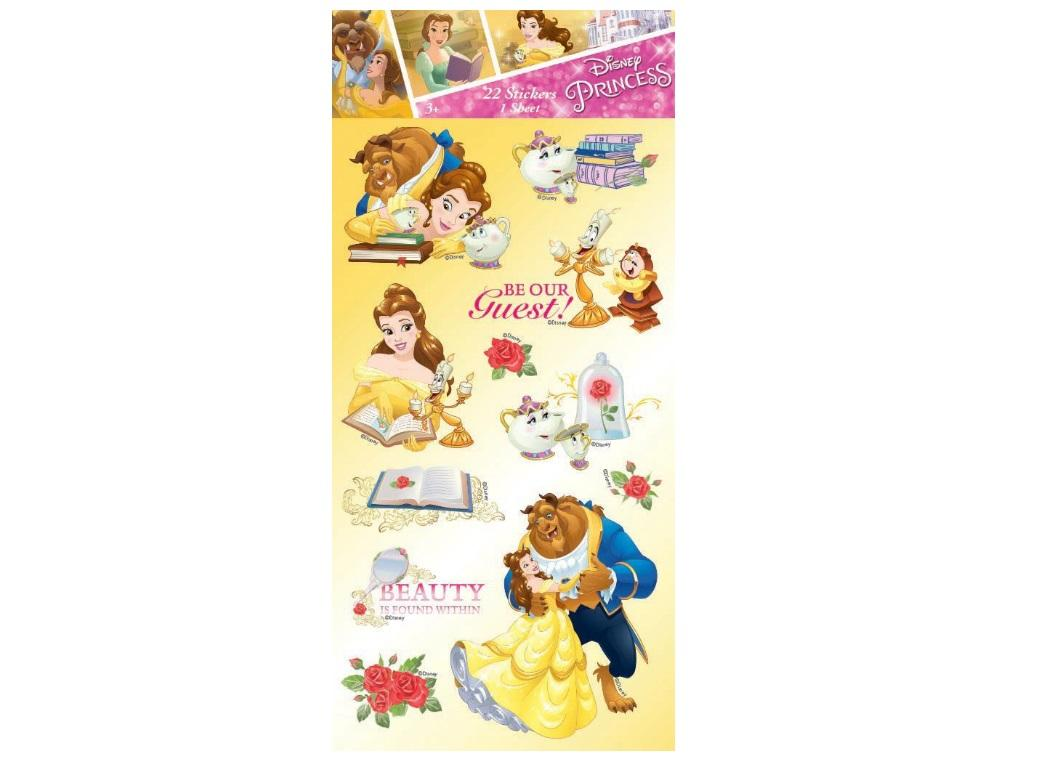Beauty and the Beast Stickers