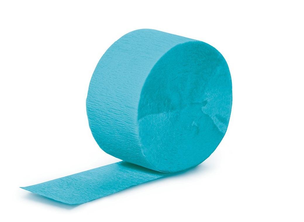 Crepe Paper Streamer - Bermuda Blue