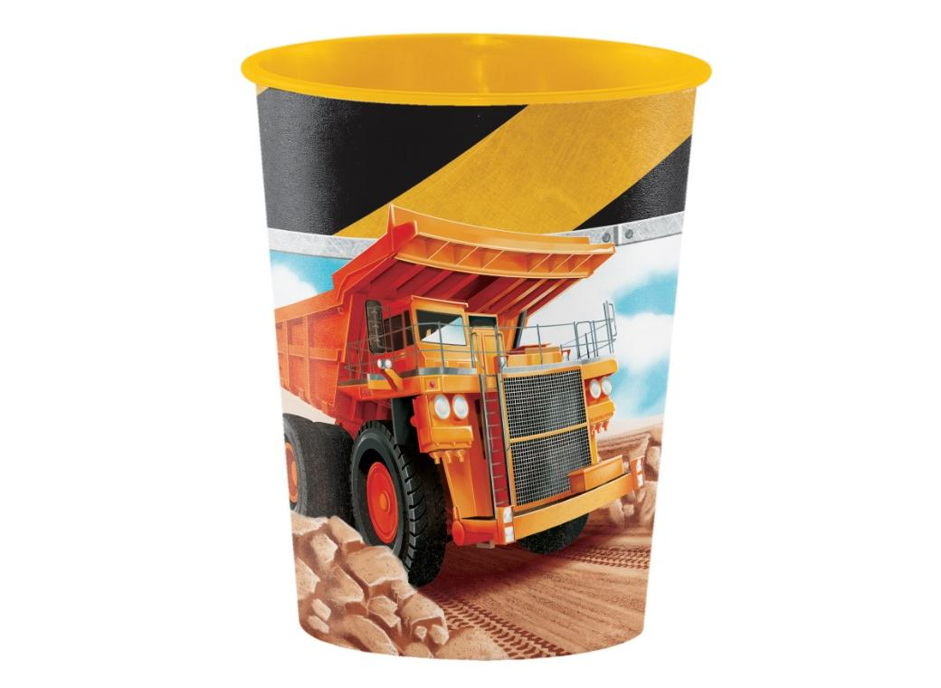 Big Dig Construction Favour Cup