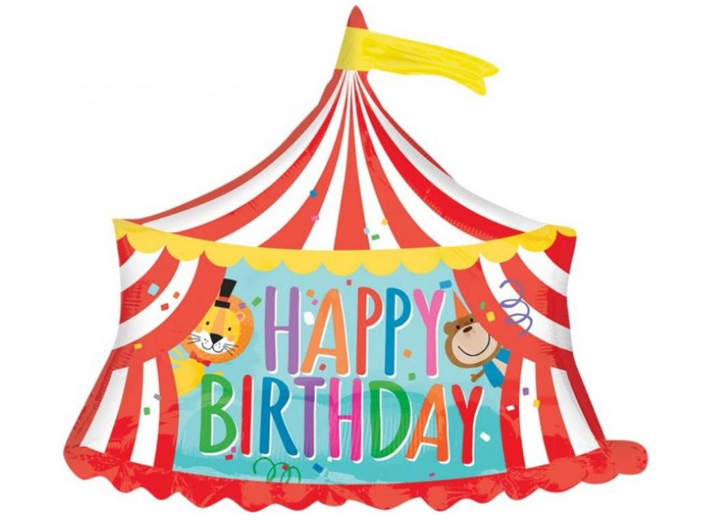 Circus Tent SuperShape Foil Balloon