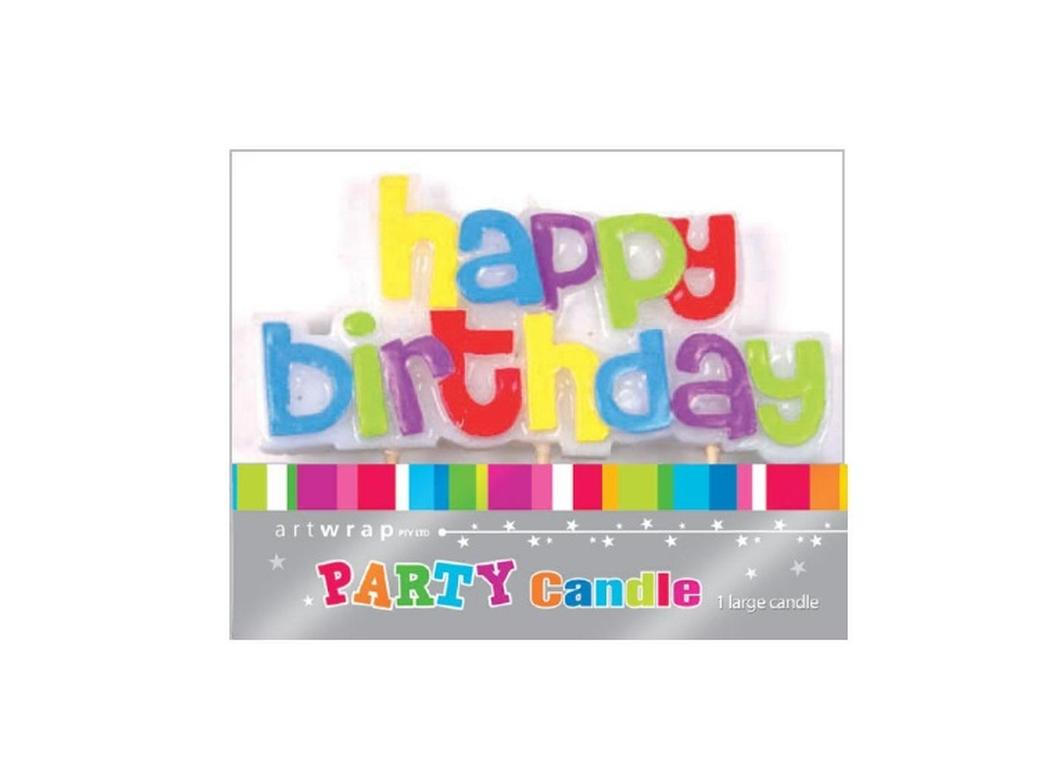 Party Candles - Happy Birthday